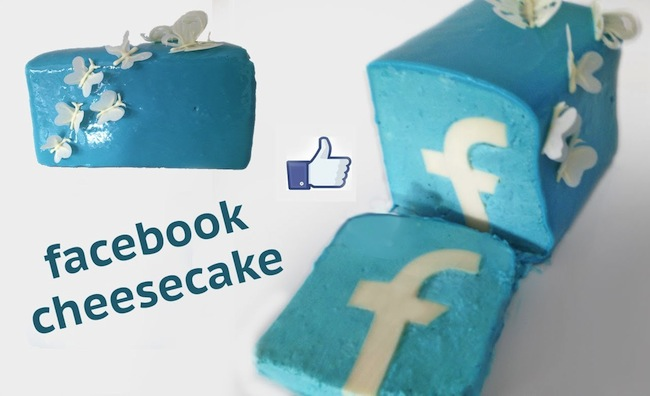 facebook cheesecake