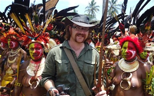 Graham at Papua New Guinea