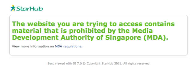 What do singaporeans think of the singapore governments ban on mda singapore ccuart Choice Image