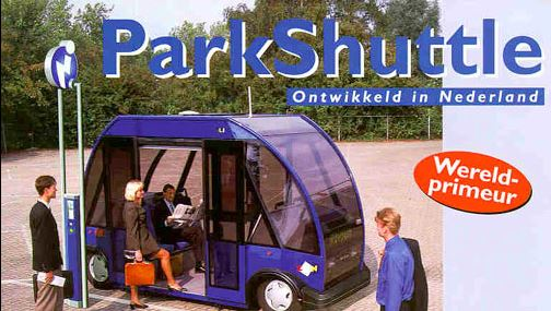 parkshuttle netherlands