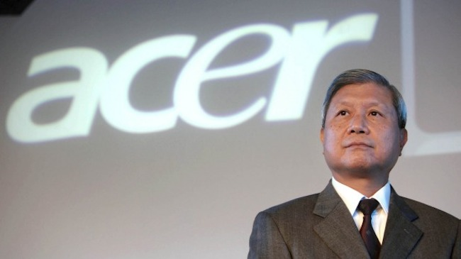 ACER's former CEO