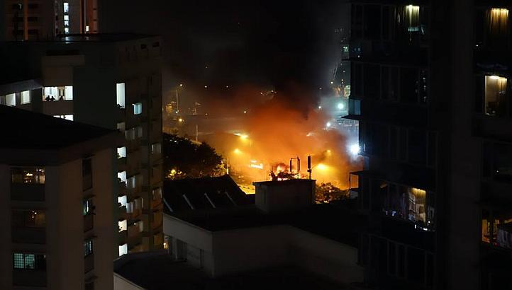 fire little india riot