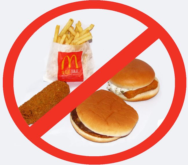 impact of unhealthy food advertisements on