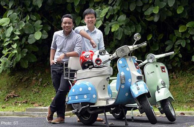 Lompang Co-founders Erfi Azhar (left) & Aaron Fu (right)