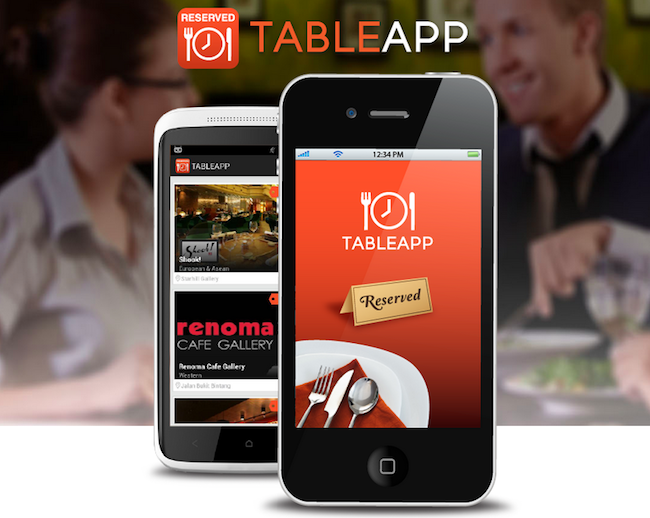 Malaysias Online Restaurant Booking Site Table App Has Served Over - Table reserve app