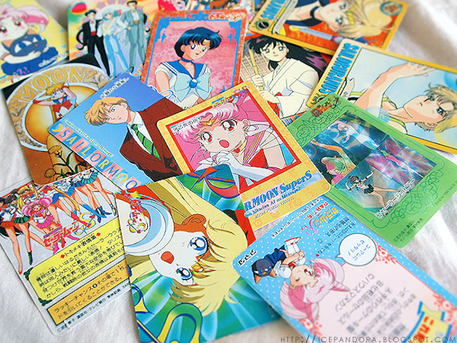 Sailormoon trading cards