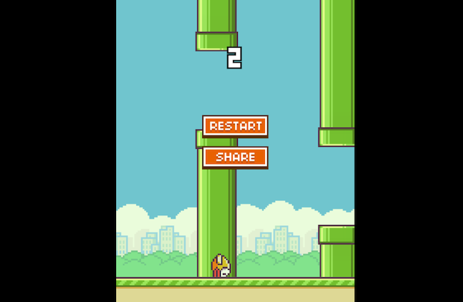 flappy bird web version
