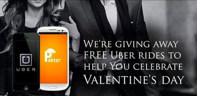 Dating app Paktor hooks up with Uber, lets users ride in style to their  Valentine's date