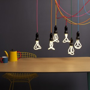 Plumen light bulbs illuminate your space with a snazzy style