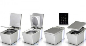 21st century luxury: toilets that come other functions beyond the disposal of human waste.