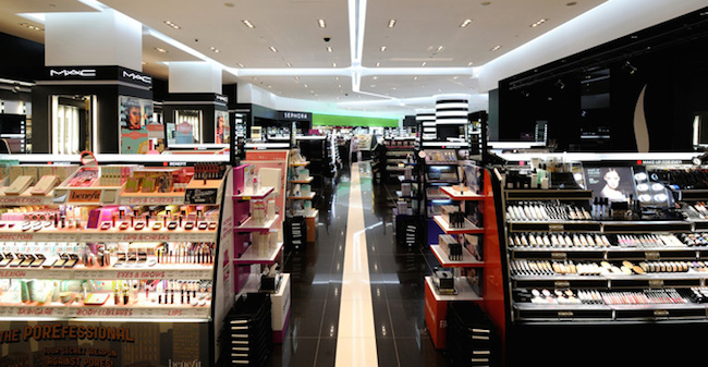 Sephora at ION Orchard. Image Credit: Nylon