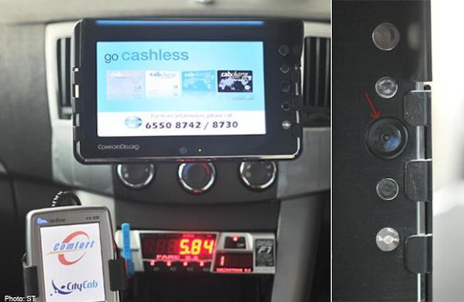 Image result for singapore taxi cashless