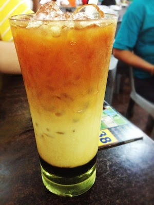 kuching 3 layer tea