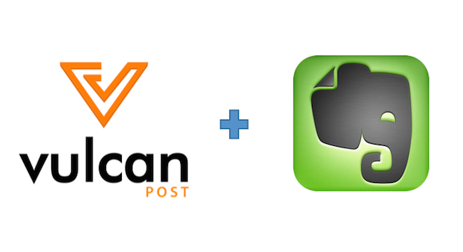 vulcan post evernote