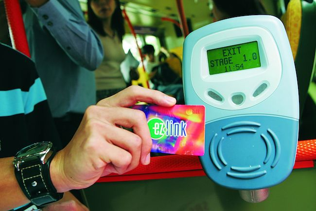 Taiwan and Singapore is developing a transport card that you