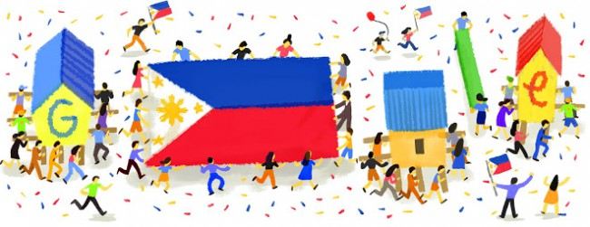 Google Doodle Philippine Independence Day