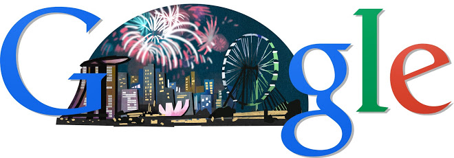 Google Doodle Singapore National Day