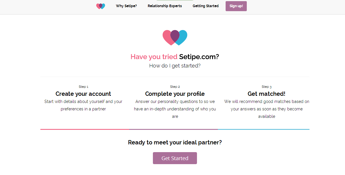 Screenshot of Setipe.com