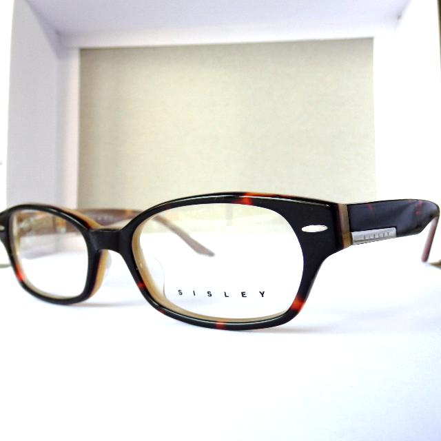 Image Credit: The Tiny Island Emporium (SISLEY, Tortoiseshell Frame with Steel Bar Badge  Inner Toffee Marble Finish)
