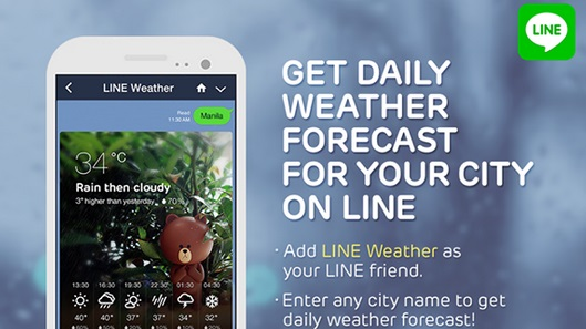 line-philippines-weather-app