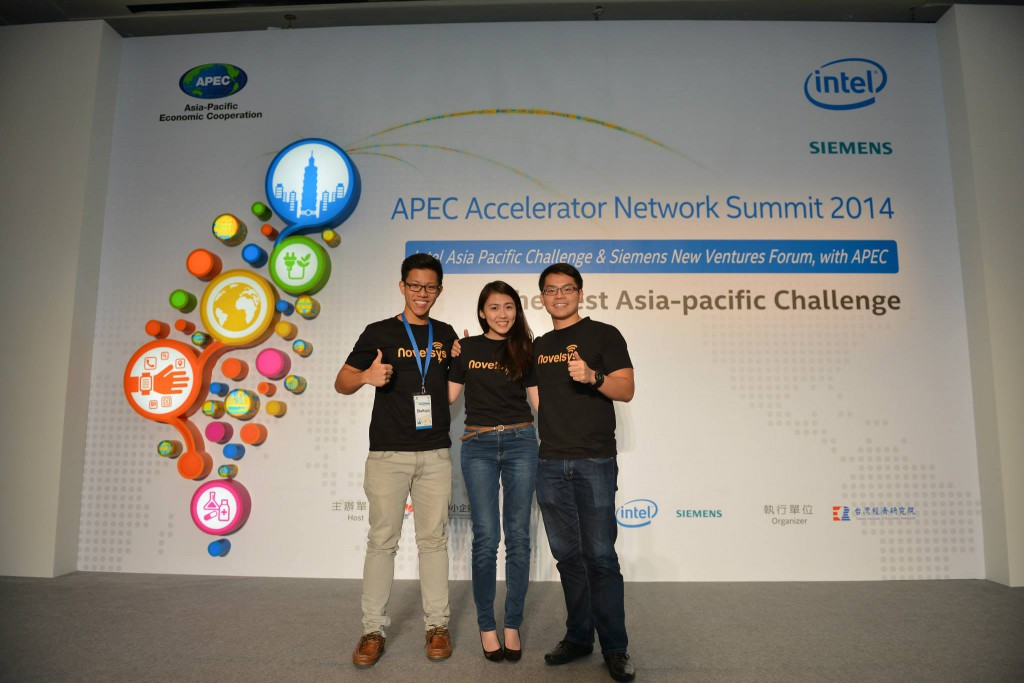 The Novelsys team at the APEC Accelerator Network Summit (Image Credit: Novelsys)