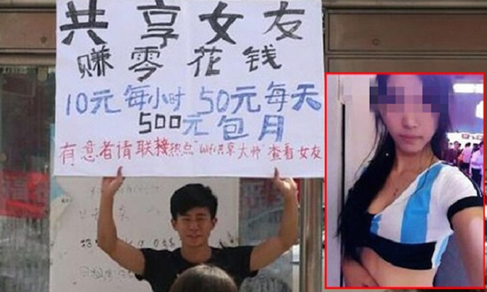 A student renting his girlfriend, just so he can afford the new iPhone 6. Image credit: Stomp Singapore