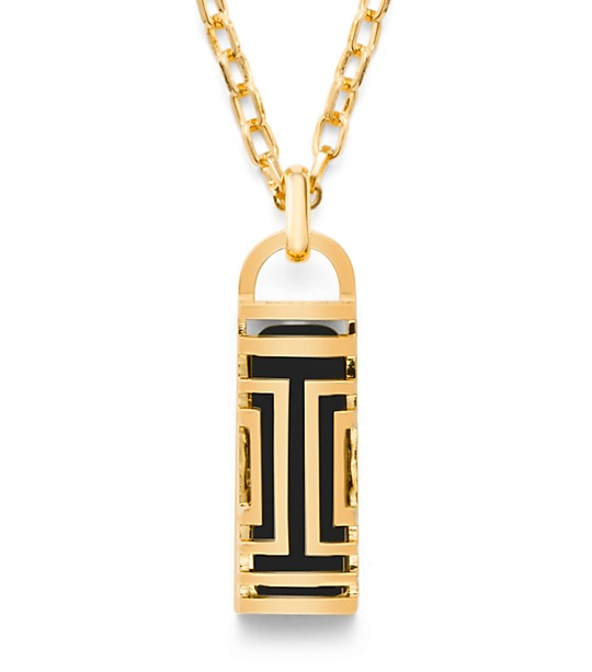 Tory Burch for Fitbit necklace; Image Credit: Tory Burch