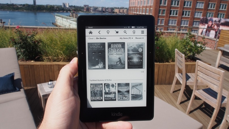 Kindle Voyage Is The Thinnest E-Book Reader, Turn Pages