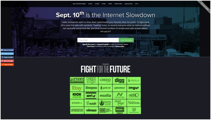 World's Largest Tech Firms Planning 'Go Slow' Day of Protest Over Net Neutrality Proposals image 1