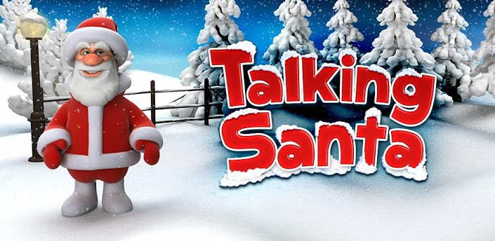 Talking Santa Christmas App