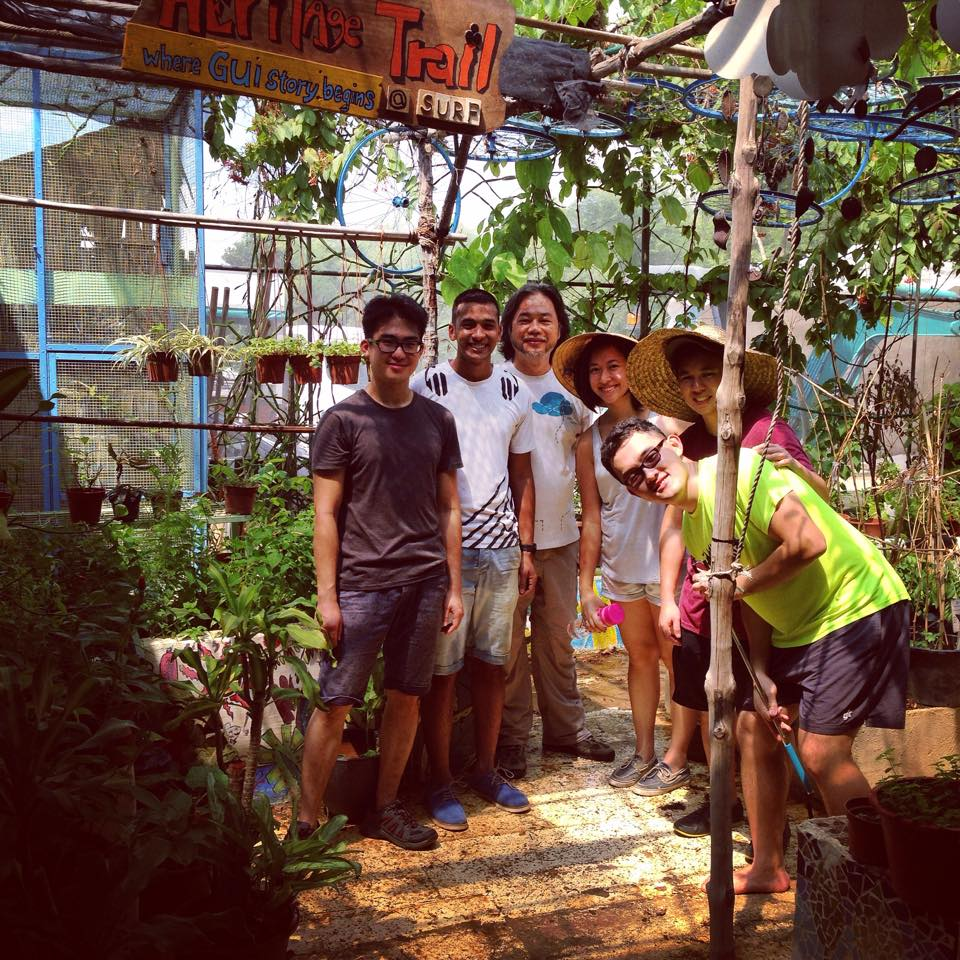 Visit to Groung Up Initiative. Image Credit: The Hidden Good