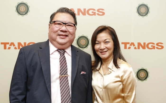 Mr Tang Wee Sung And Grace Ban (Image Credit: SG Tatler)