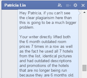 Screenshot of Bryan Choo's conversation with Patricia Lin (Image Credit: TheSmartLocal)