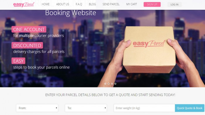 easyParcel Malaysia Is The Booking com For Courier And Delivery Services