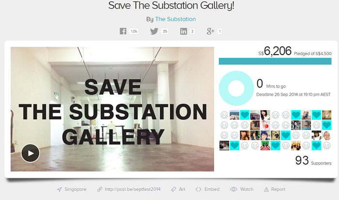 Image Credit: Save The Substation Gallery!