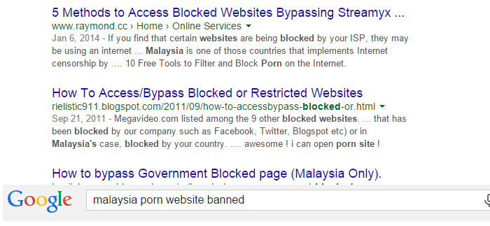 Malaysia Blocks Popular Porn Websites, To Nobodys Dismay-8903