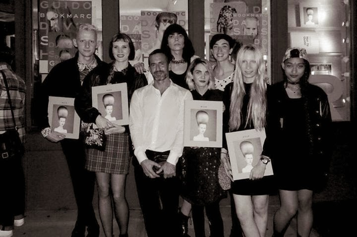 The final 11 including Nadia, with Marc Jacobs himself. Image Credit: Nadia