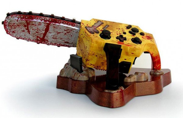 A far cry from the threatening chainsaw in the game (Image Credit: Hexus)