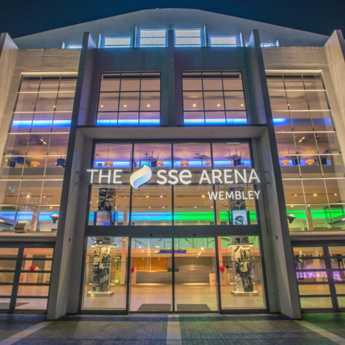 Image Credit: The SSE Arena, Wembley Google Plus
