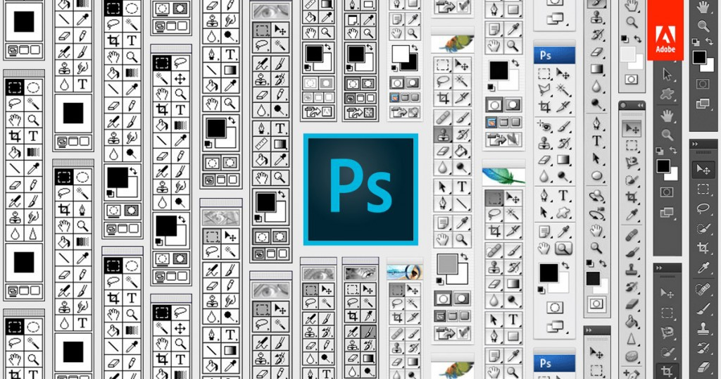 Photoshop through the years (Image Credit: blogs.adobe.com)