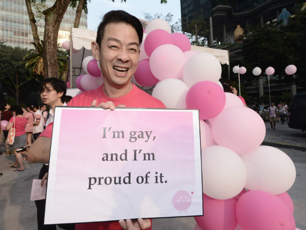 Theatre director and Pink Dot ambassador Ivan Heng, 51, proud to be gay.