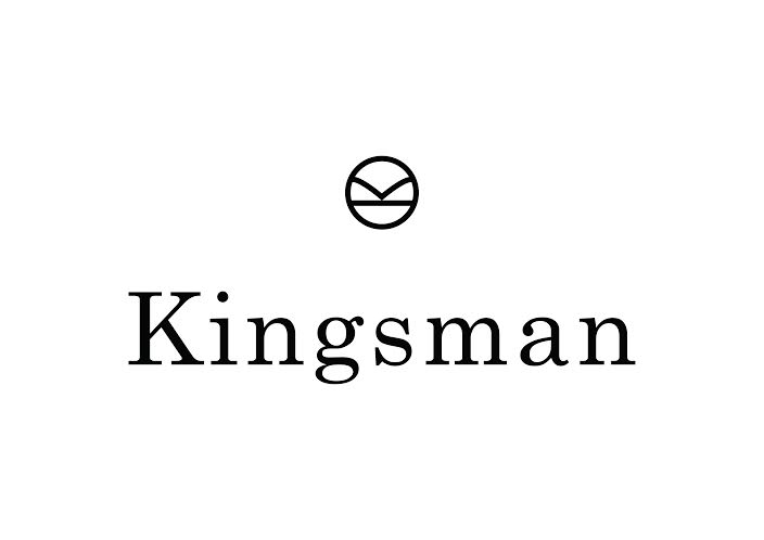 The logo that runs throughout the Kingsman collection on MR PORTER.