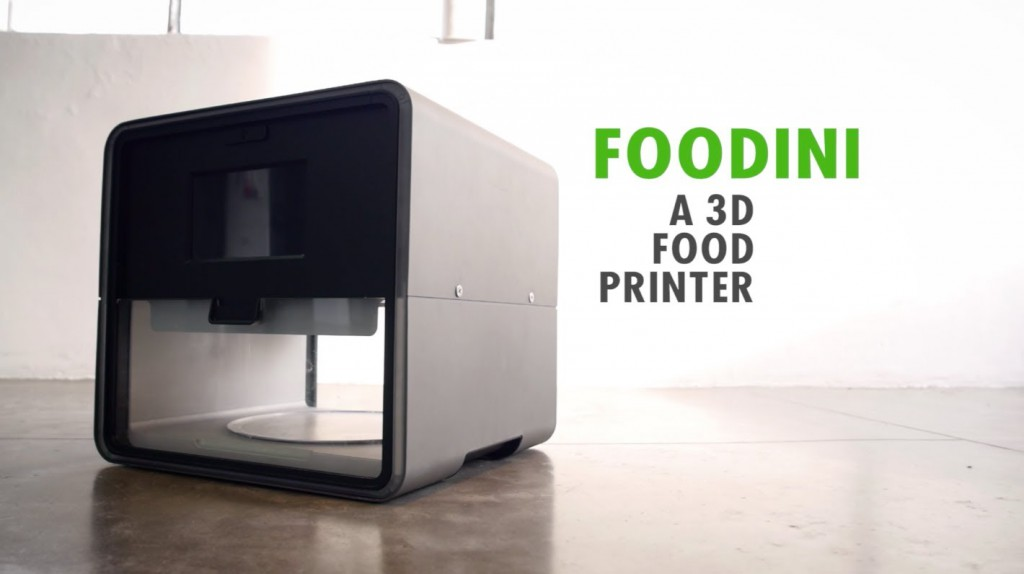 Foodini, a commercial food printer you can keep in your kitchen (Image Credit: YouTube)