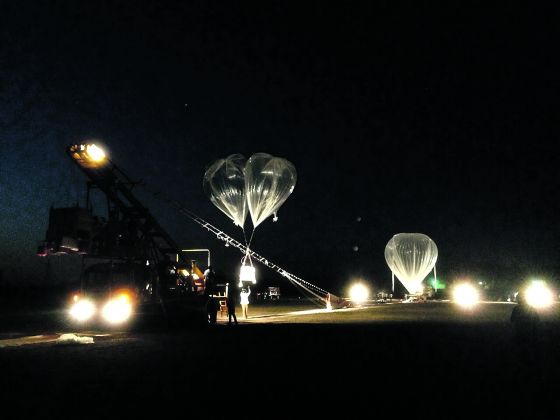 The test flight that took place on Saturday (Image Credit: Lim Seng)