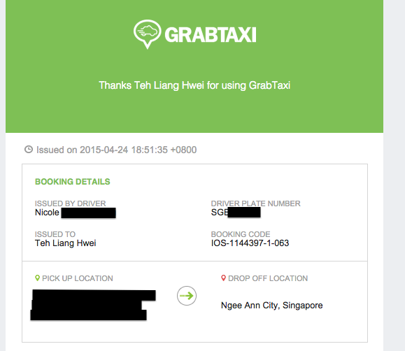 GrabTaxi Singapore Launches GrabCar With Coupon For 2 Rides