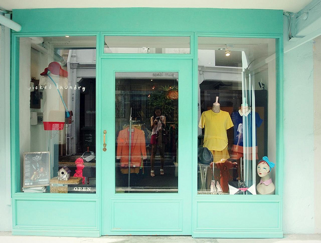 Wicked Laundry, 76 Haji Lane. (Image Credit: Naked Glory)