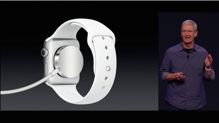 Apple Watch charging. Image Credit: Engadget