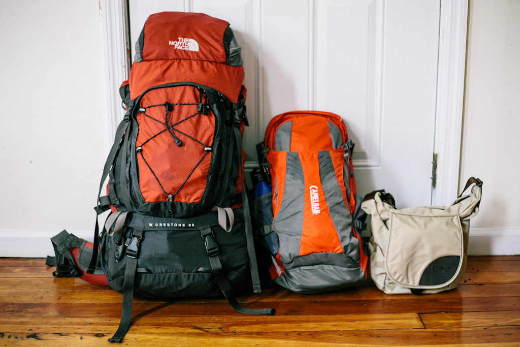 Image result for backpacker small bag