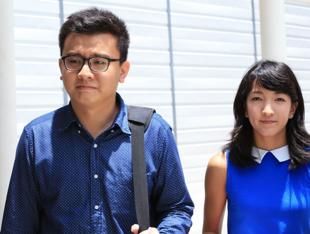 The two editors of The Real Singapore. (Image Credit: Today Online)