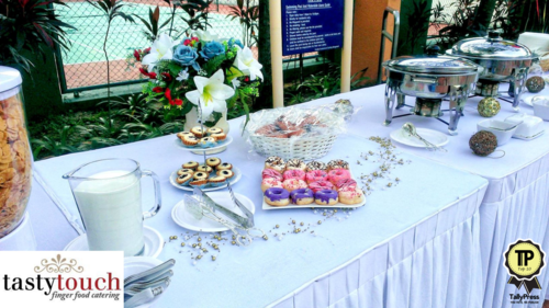 10) Tasty Touch Finger Food Catering Service